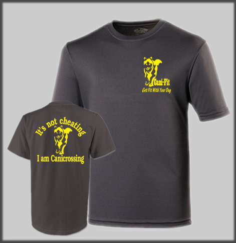 Cani Fit Cheating Mens Technical T Shirt