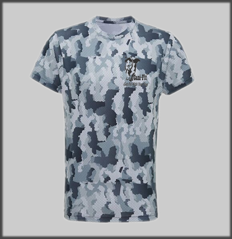 Cani Fit Male Hexoflage Tech T