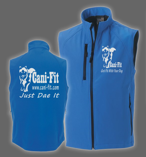 Cani Fit Male Softshell Gilet