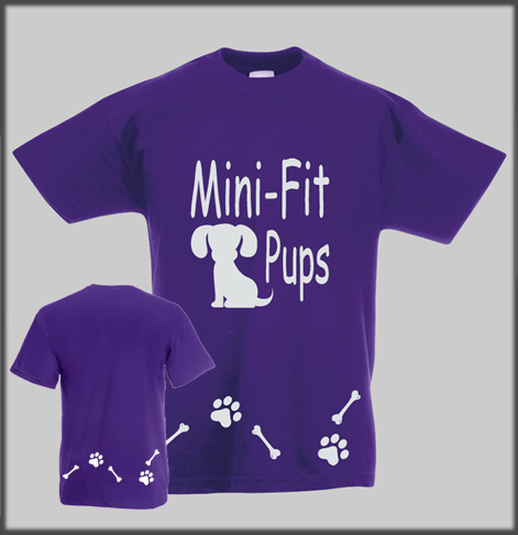 Cani Fit Pup T Shirt