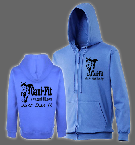 Cani Fit Zipped Hoody