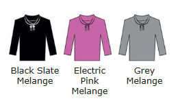 Cowl Neck Colour Chart