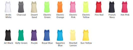 Technical Vest Colour Choice
