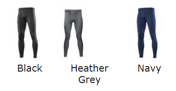 Leggings Colour Chart